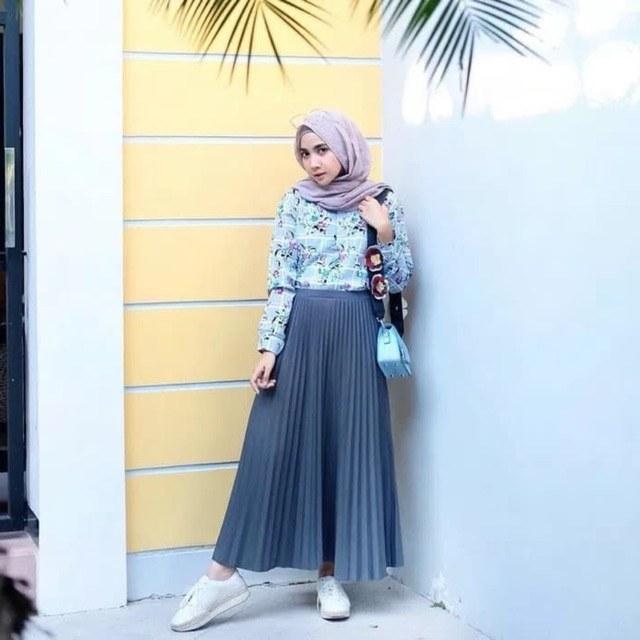 Model Fashion Muslimah Casual Jxdu Ready Stock Baju Muslimah Fashion Casual Long Pleated
