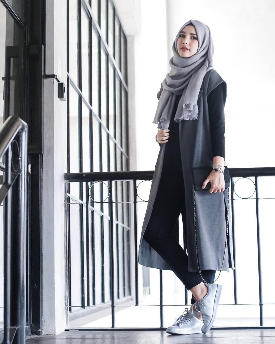 Model Fashion Muslimah Casual Xtd6 Muslimah Fashion & Hijab Style