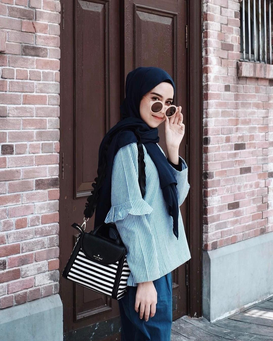 Model Fashion Muslimah Remaja 4pde 10 Trend Style Hijab Muslimah Masa Kini 2017