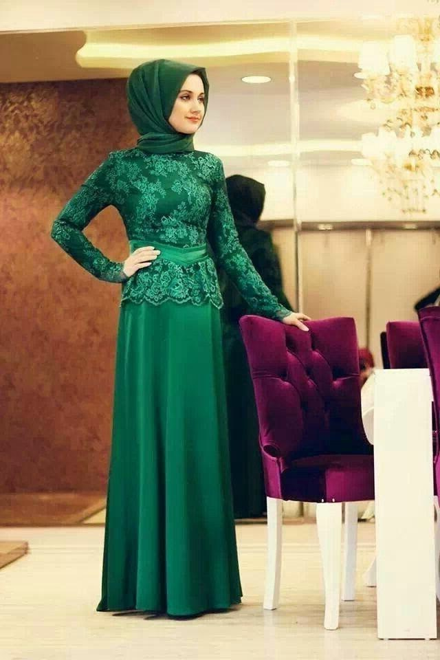 Model Fashion Muslimah Remaja E9dx Kebaya Dress Modern Remaja Muslimah Berkerudung