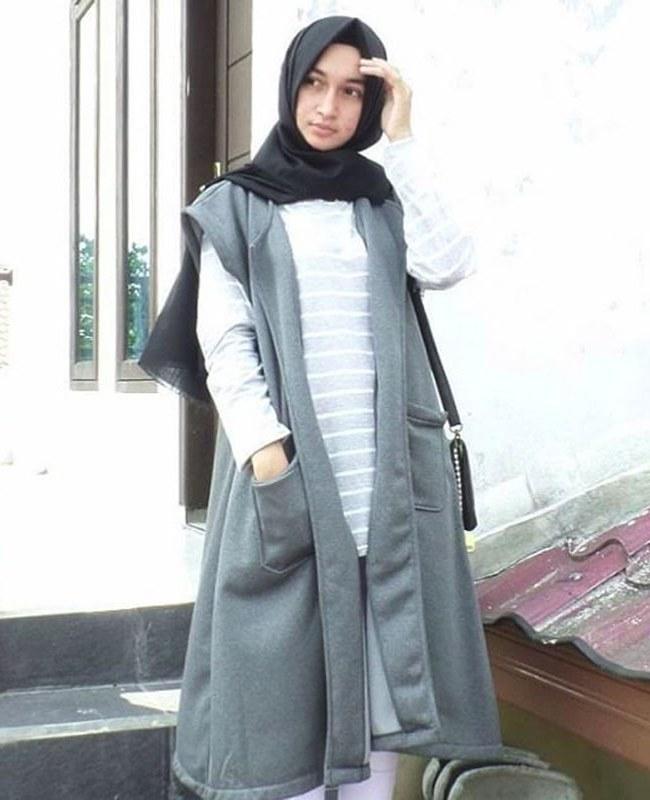 Model Fashion Muslimah Remaja Ffdn 5 Inpirasi Style Hijab A La Selebgram Mulimah Cantik Yang