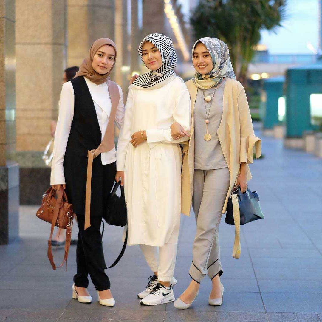 Model Fashion Muslimah Remaja Jxdu Tampil Kece Saat Lebaran Ini Dia Style Terbaru Untuk
