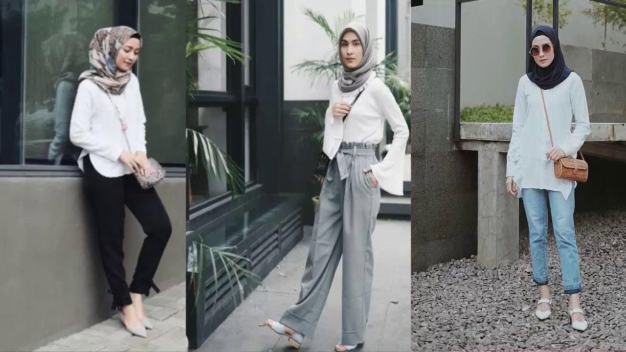 Model Fashion Muslimah Remaja S5d8 Koleksi Fashion Hijab Remaja 2019 Trend Ootd Casual Outfit