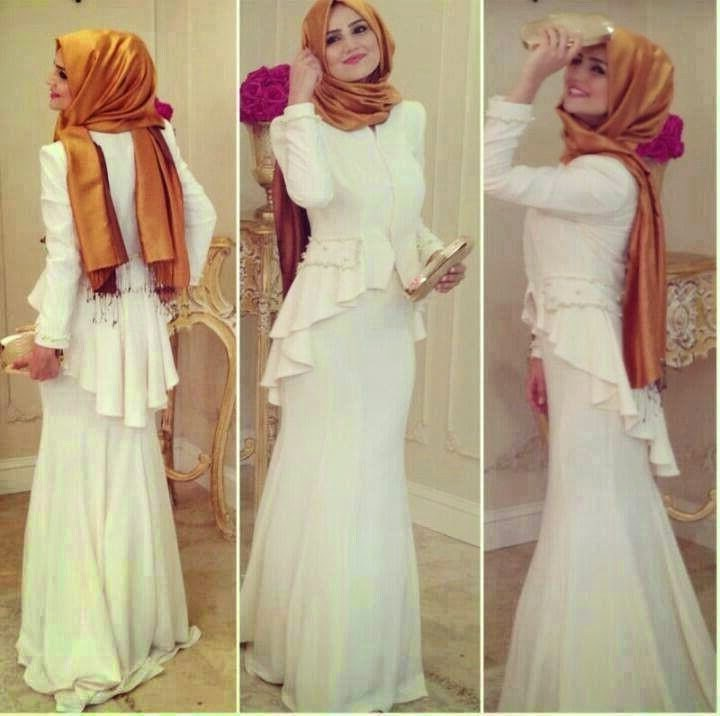 Model Fashion Muslimah Remaja Tqd3 Kebaya Dress Modern Remaja Muslimah Berkerudung
