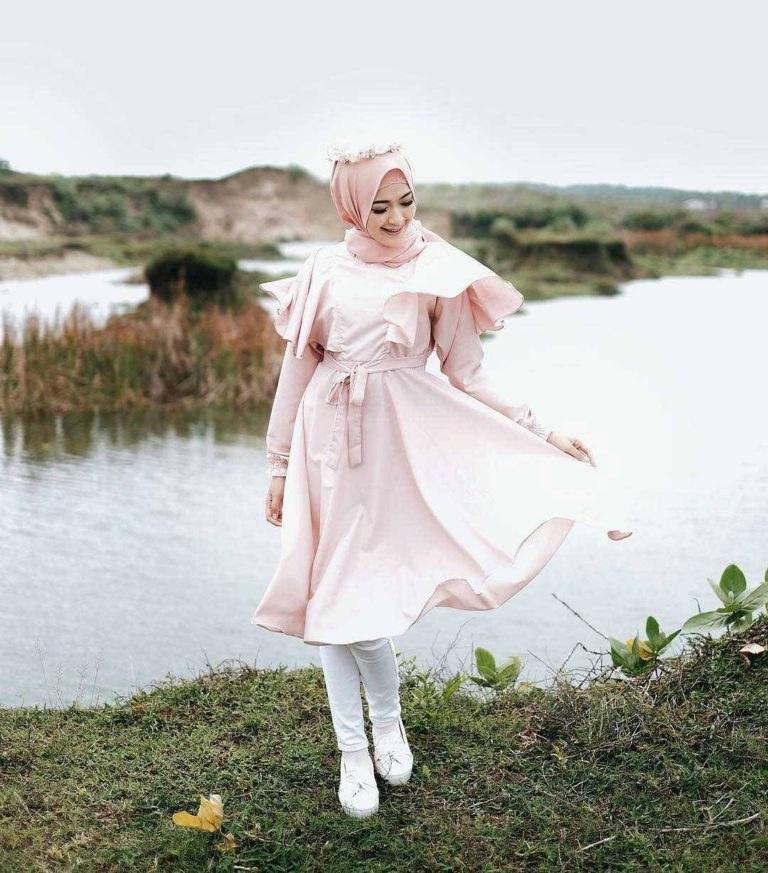 Model Fashion Muslimah Remaja Whdr Fashion Hijab Remaja Terbaru 2018 Gaya Masa Kini Teman
