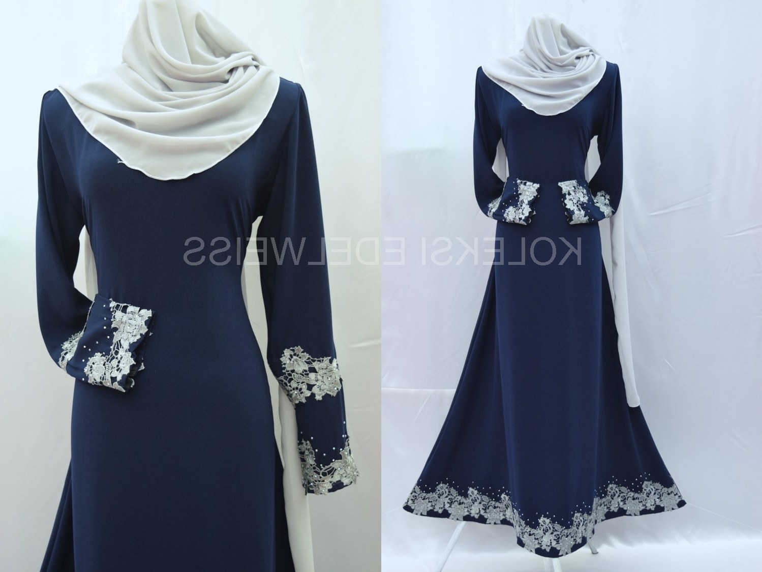 Model Fashion Muslimah Terkini H9d9 Koleksi Edelweiss Baju Pengantin Baju Nikah Dan Tunang