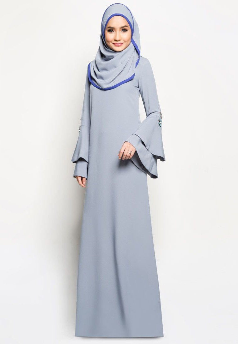 Model Fashion Muslimah Terkini S1du Buy Bella Ammara for Zalora Mariam Modern Jubah Line