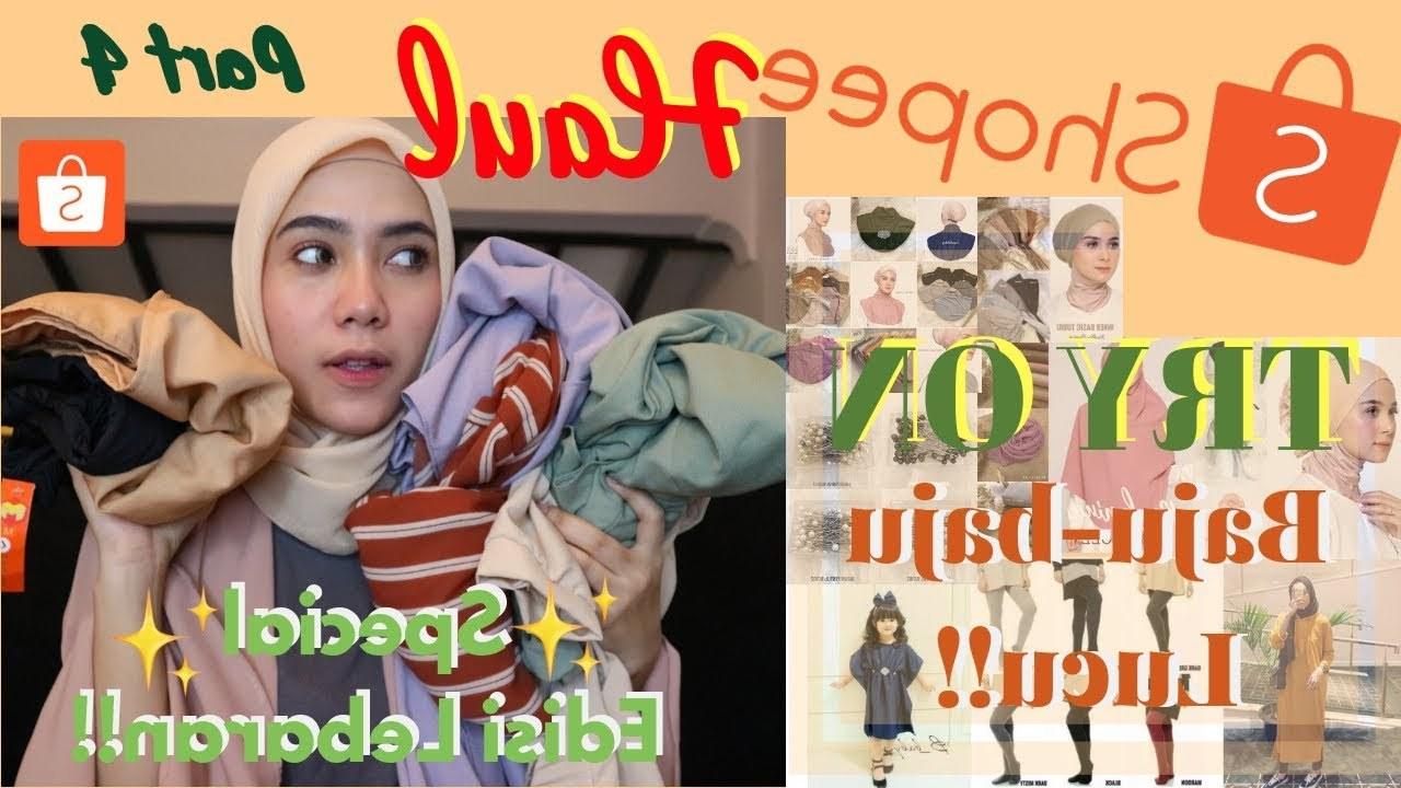 Model Gambar Baju Lebaran Lucu Fmdf Shopee Haul Part 4 Special Lebaran Baju Celana Hijab
