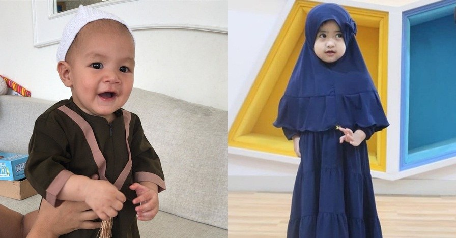 Model Inspirasi Baju Lebaran Keluarga 2019 J7do 10 Inspirasi Baju Lebaran Anak Seleb Modis Dan Stylish