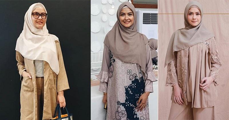Model Inspirasi Baju Lebaran Keluarga 2019 X8d1 Inspirasi Baju Lebaran Bagi Mama Muda Ala Revalina S Temat