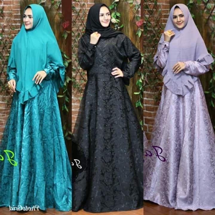 Model Lazada Baju Lebaran Wanita 9ddf Baju Muslim Wanita Model Terbaru