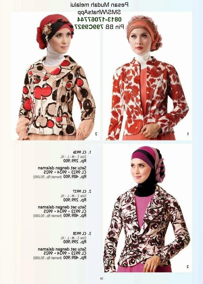 Model Macam Macam Baju Lebaran U3dh butik Baju Muslim Terbaru 2018 Gaun Pesta Muslimah Calosa
