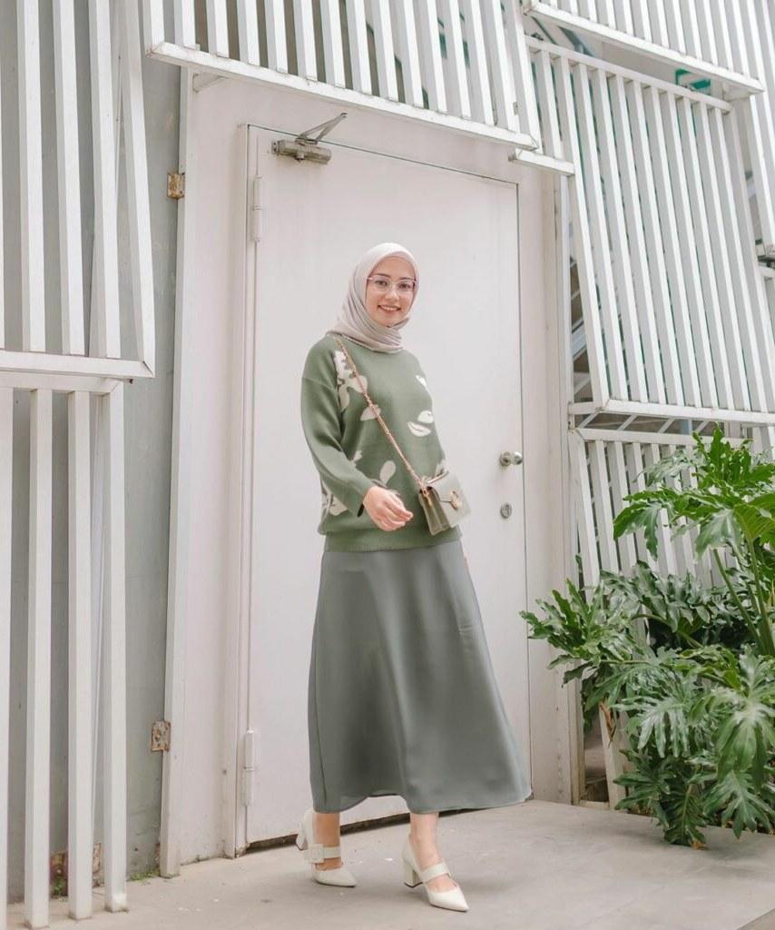 Model Melihat Baju Lebaran Dwdk 15 Inspirasi Mix and Match Baju Lebaran Saat Harus