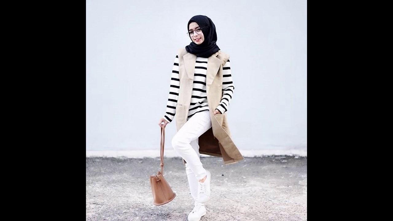 Model Model Baju Lebaran Kekinian Nkde Baju atasan Muslim Kekinian