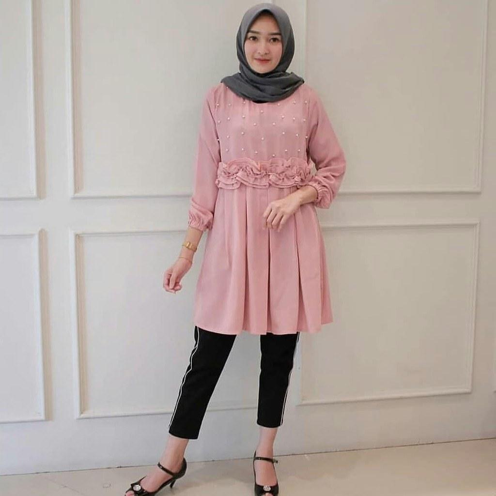Model Model Baju Lebaran Kekinian Zwdg Baju atasan Wanita Model Terbaru Kekinian Dan Modis Ahz47