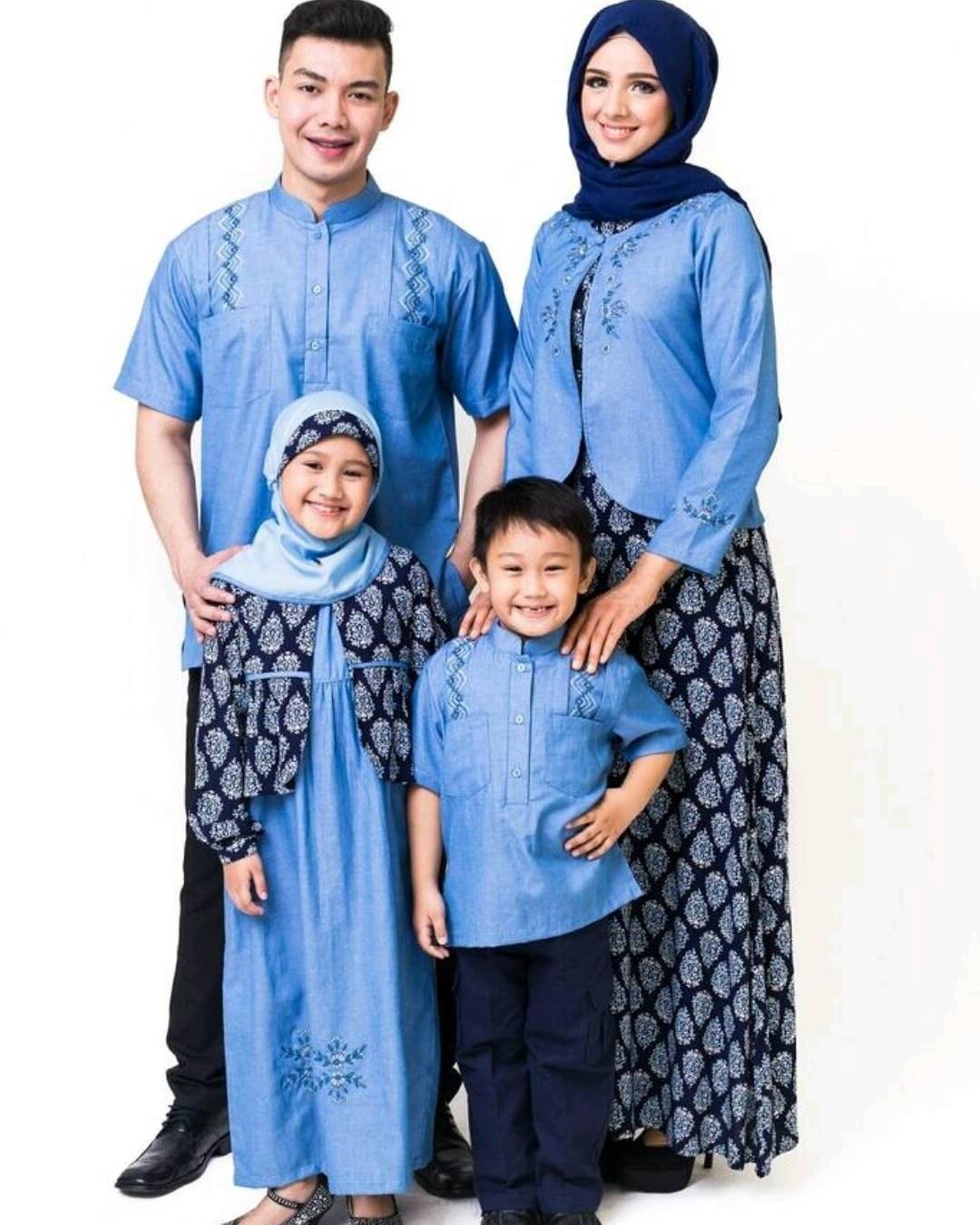 Model Model Baju Lebaran Keluarga Terbaru 2019 S1du Model Baju Keluarga Untuk Hari Raya Lebaran 2018