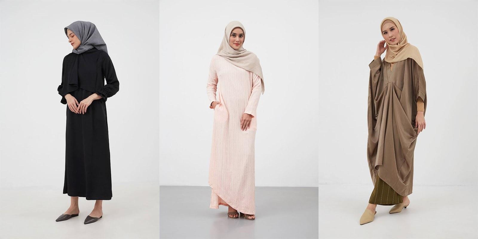 Model Model Baju Lebaran Thn 2020 D0dg Intip Trend Model Baju Gamis Lebaran 2020 Dari Hijabenka
