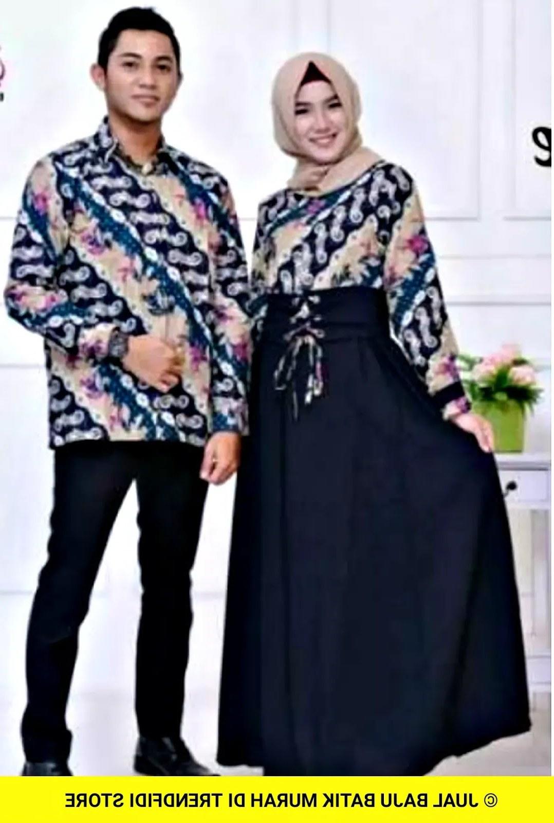 Model Model Baju Lebaran Thn 2020 Tqd3 30 Model Baju Batik Thn 2020 Fashion Modern Dan Terbaru