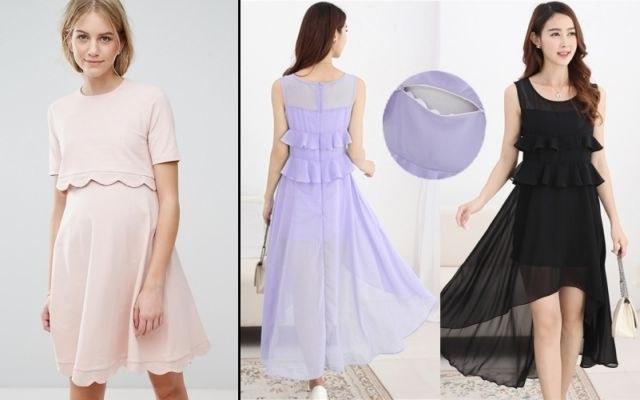 Model Model Baju Lebaran Untuk Ibu Menyusui Thdr Gamis Ibu Menyusui Modis Gambar islami