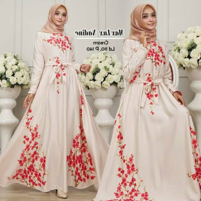 Model Model Baju Lebaran Untuk Ibu Menyusui Xtd6 Baju Gamis Modern Ibu Menyusui Maxmara Nadine Jual Gamis