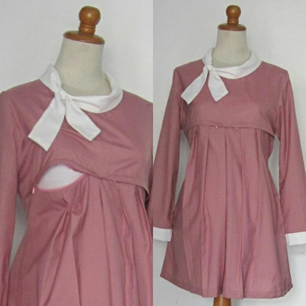 Model Model Baju Lebaran Untuk Ibu Menyusui Xtd6 Baju Kerja Hamil Dan Menyusui Batik Hamil