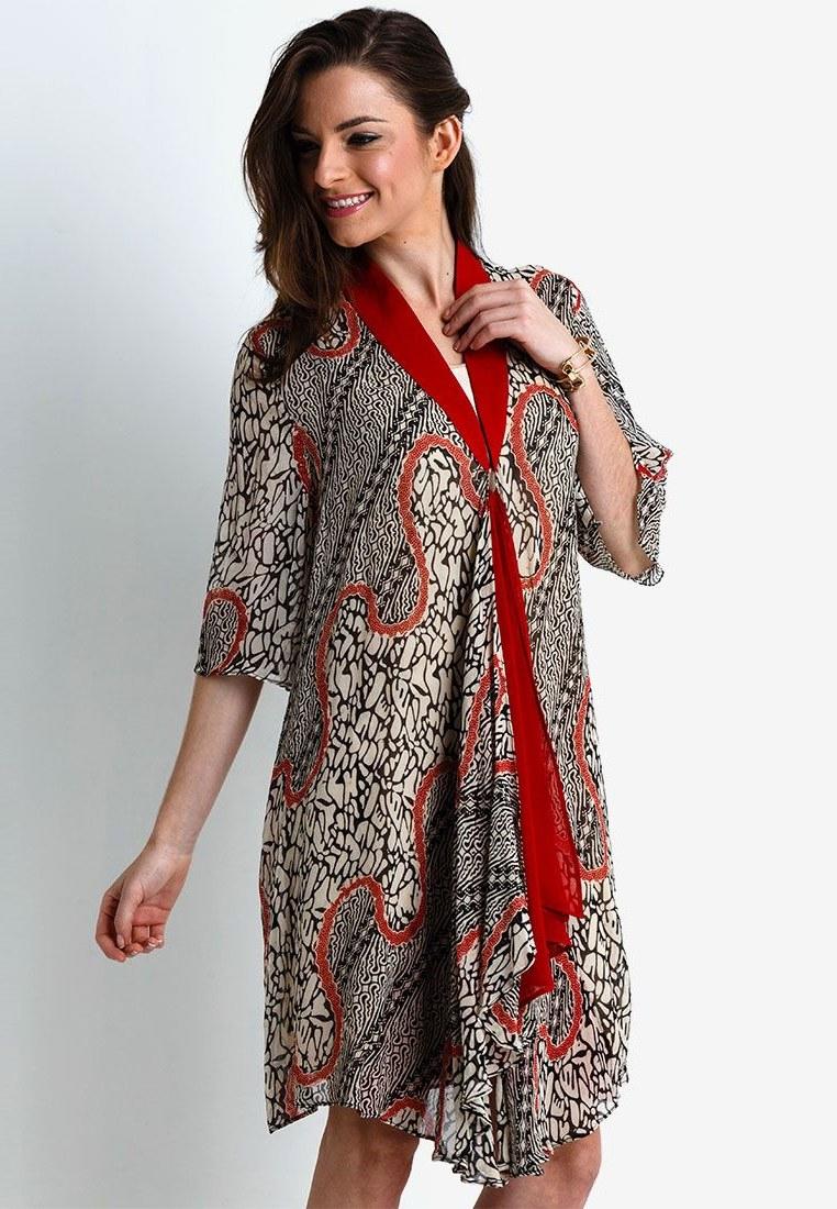 Model Motif Baju Lebaran 9fdy Baju atasan Mini Dress Batik Untuk Lebaran