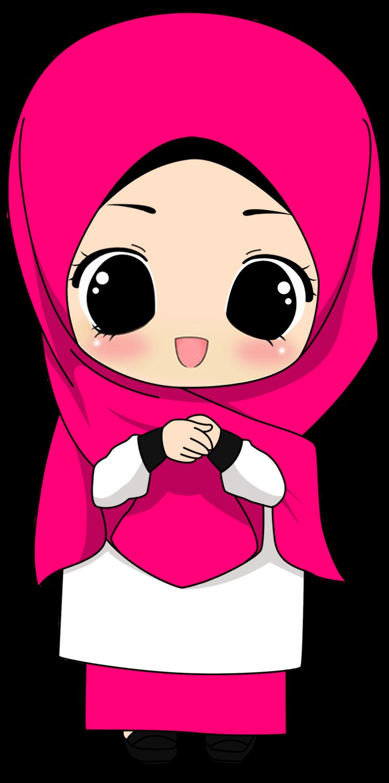 Model Muslimah Kartun Png 3id6 Gambar Kartun Muslimah