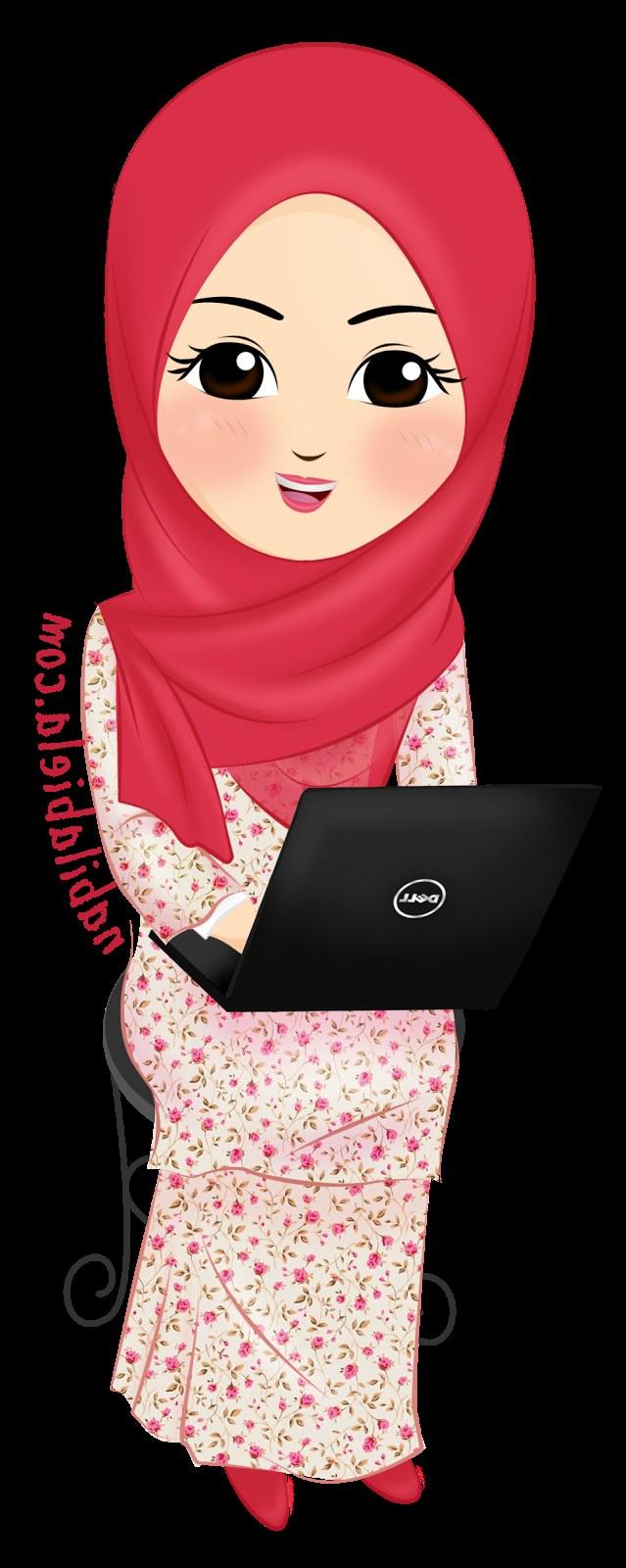 Model Muslimah Kartun Png Mndw Vector Free Muslim and Google On Pinterest