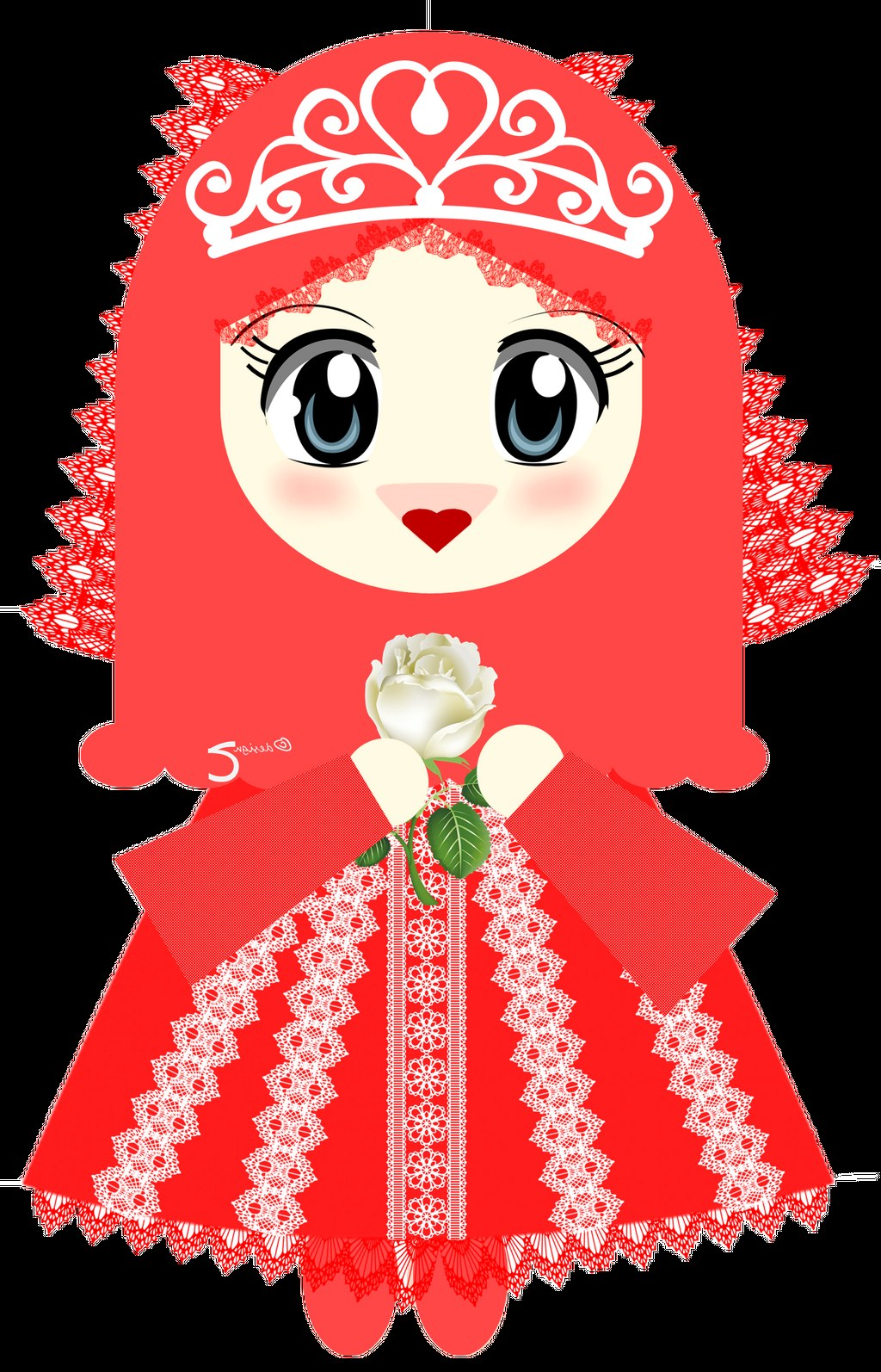 Model Muslimah Kartun Png Tqd3 Gambar Wallpaper Kartun Muslimah