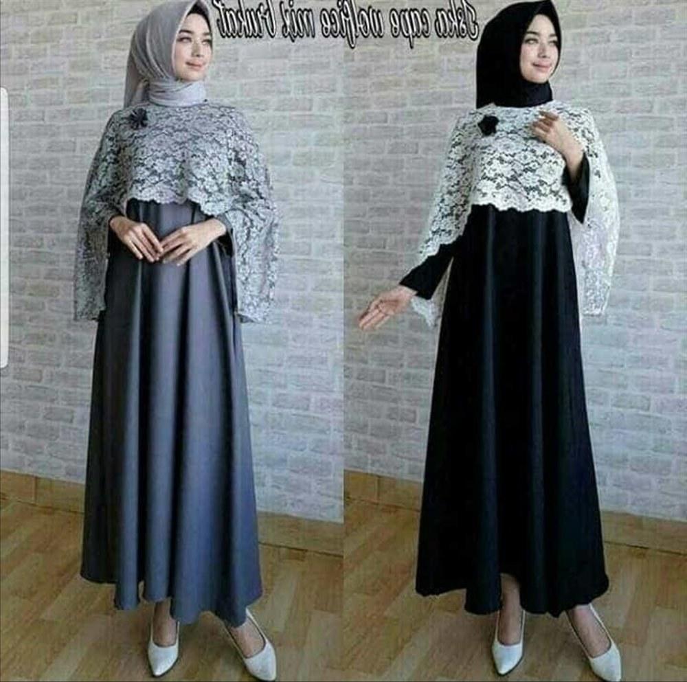 Model Promo Baju Lebaran Ffdn Jual Promo Lebaran Baju Muslim Wanita Murah iska Cape Maxy