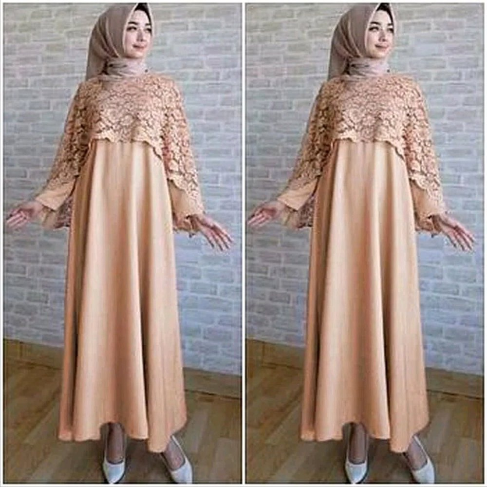 Model Promo Baju Lebaran X8d1 Jual Promo Lebaran Baju Muslim Wanita Murah iska Cape Maxy