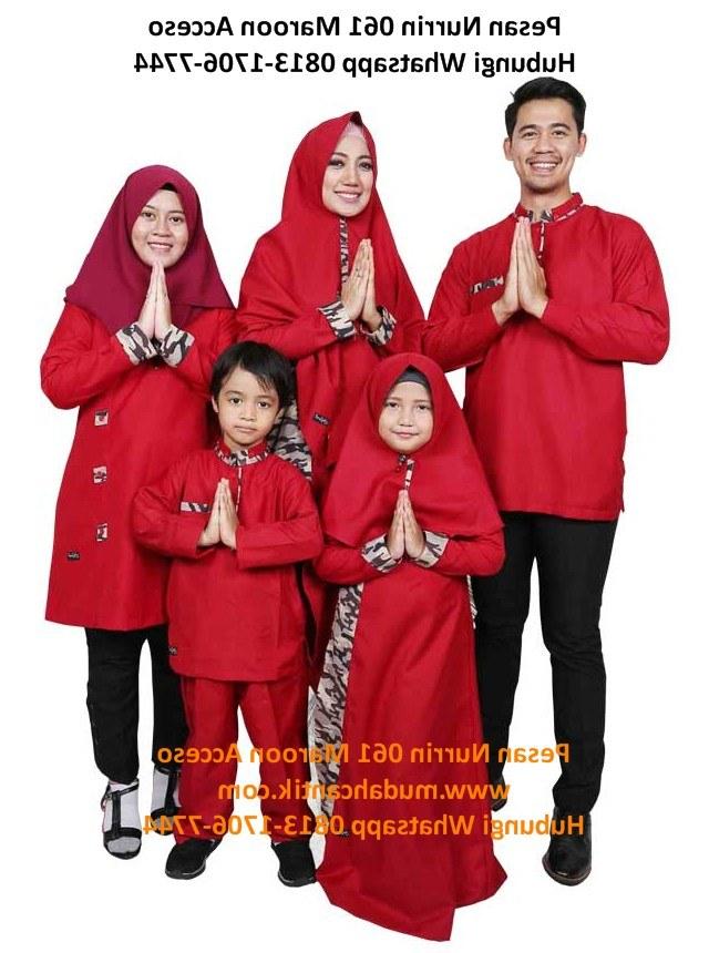 Model Referensi Baju Lebaran 2019 3id6 Baju Lebaran Modis Terbaru 2019