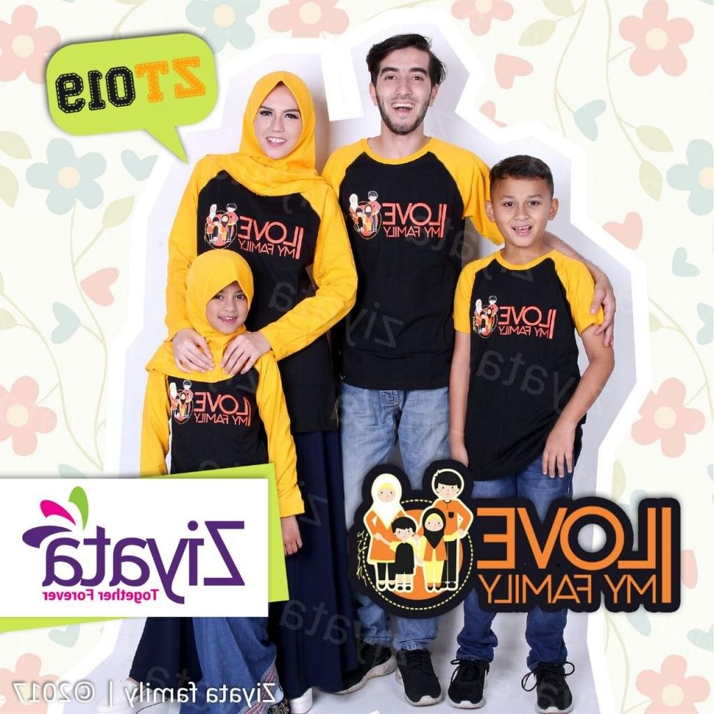 Model Tulisan Baju Lebaran D0dg Baju Couple Keluarga 2 Anak Untuk Acara Liburan Dan Mudik